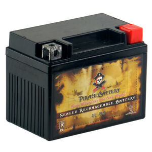 YTX4L-BS  High Performance - Rechargeable - Sealed AGM Motorcycle Battery
