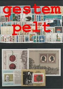 Germany-GDR-vintage-yearset-Complete-1982-Postmarked-Used-complete-Complete