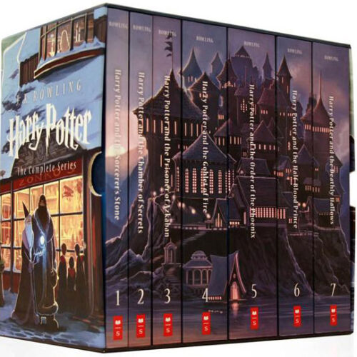 HARRY POTTER Complete Set 1-7 American First Editions HB JK Rowling