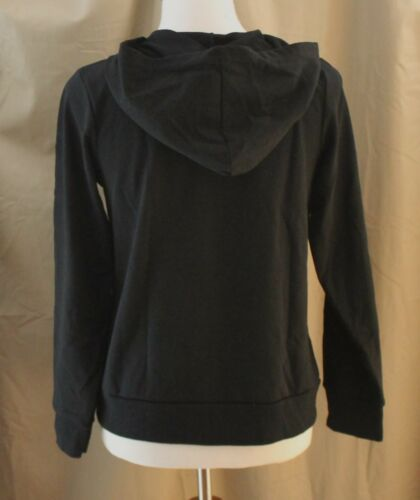 New with Tags Total Girl Black Zippered Front Hoodie 18½ XL Plus