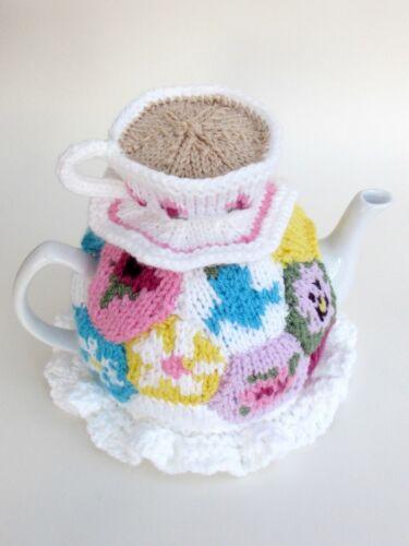 La grand-mère Patchwork Couvre-théière Tricot Motif À tricoter votre propre