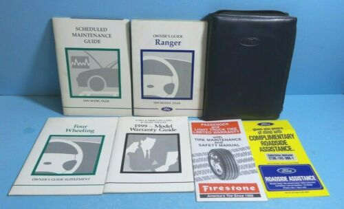 99 1999 Ford Ranger owners manual