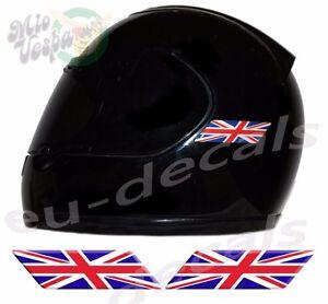 Helmet UK Union Jack England Flags D Decals Left Right Sticker - Mio decalsmotorcycle decalsstickers for yamaha ebay