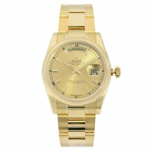 Rolex-Day-Date-36mm-18K-Yellow-Gold-Champagne-Dial-Automatic-Mens-Watch-118208