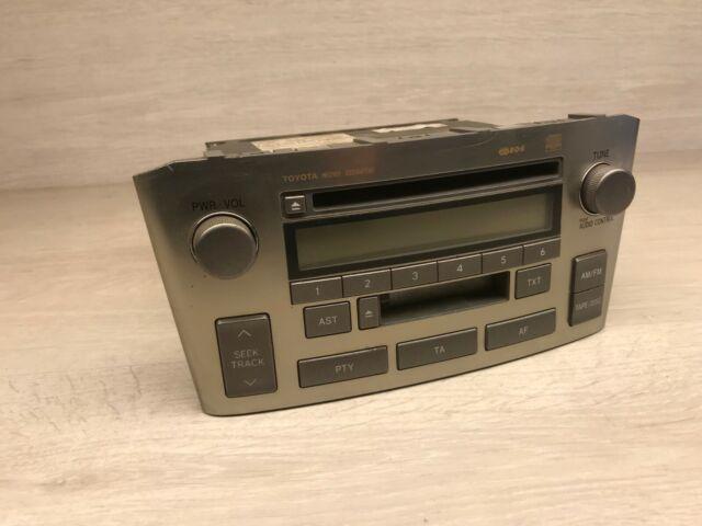 A170 Toyota Avensis 2004 CD Radio Casete Estéreo Unidad Principal 86120-05080