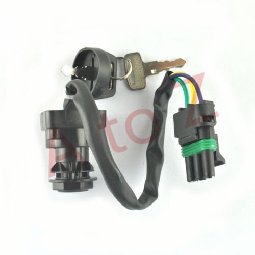IGNITION KEY SWITCH FITS BOMBARDIER CANAM TRAXTER AUTOSHIFT XT 2001-2002
