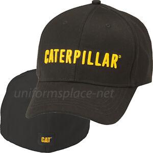 91facec0e1a758 Herren-Accessoires Caterpillar Hats Men CAT Trademark Stretch Fit Logo Cap  Cotton/Spandex Fitted