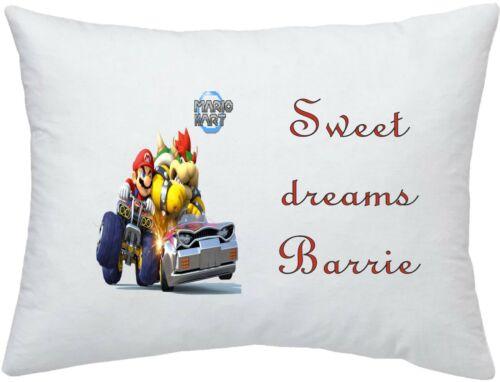 Super Mario Kart #2 Personnalisé Taie d/'oreiller