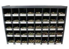 3765 Piece Grade 8 Fine Thread Nut Bolt Amp Washer Assortment With Metal Bolt Bin