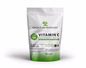 Ascorbic Acid Vitamin C Pure Powder GMO Free