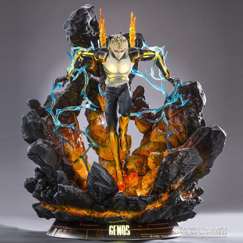 One-Punch Man - Genos Hqs 1 1 1 6 Mixed Media Statue Figura Tsume cae