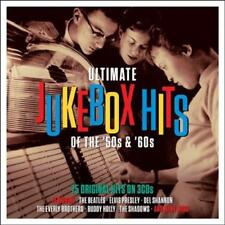 Ultimate Jukebox Hits of the 50s & 60s by Various Artists (CD, Mar-2015, 3 Discs, One Day Music)