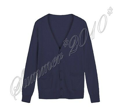 Cute Japanese Girls Cosplay JK School Uniforms Long Sleeve Knit Cardigan Sweater