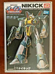 Orguss-Transformer-Nikick-Commander-Type-1-72-Plastic-Imai-5-Vintage-amp-Rare