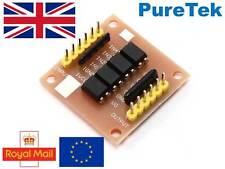 PC817, 4 channel opto-isolator breakout for Arduino, optoisolator, optocoupler