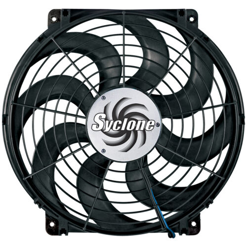 """398 Flex-a-lite Syclone S-Blade Electric Cooling Fan 16/"""" Pusher//Puller"""