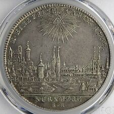 Nurnberg 1768 City View Silver Thaler PCGS XF45