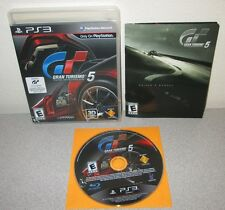 GRAN TURISMO 5 PlayStation 3 w/Manual Polyphony GT5 Racing Game Day1 Black Label