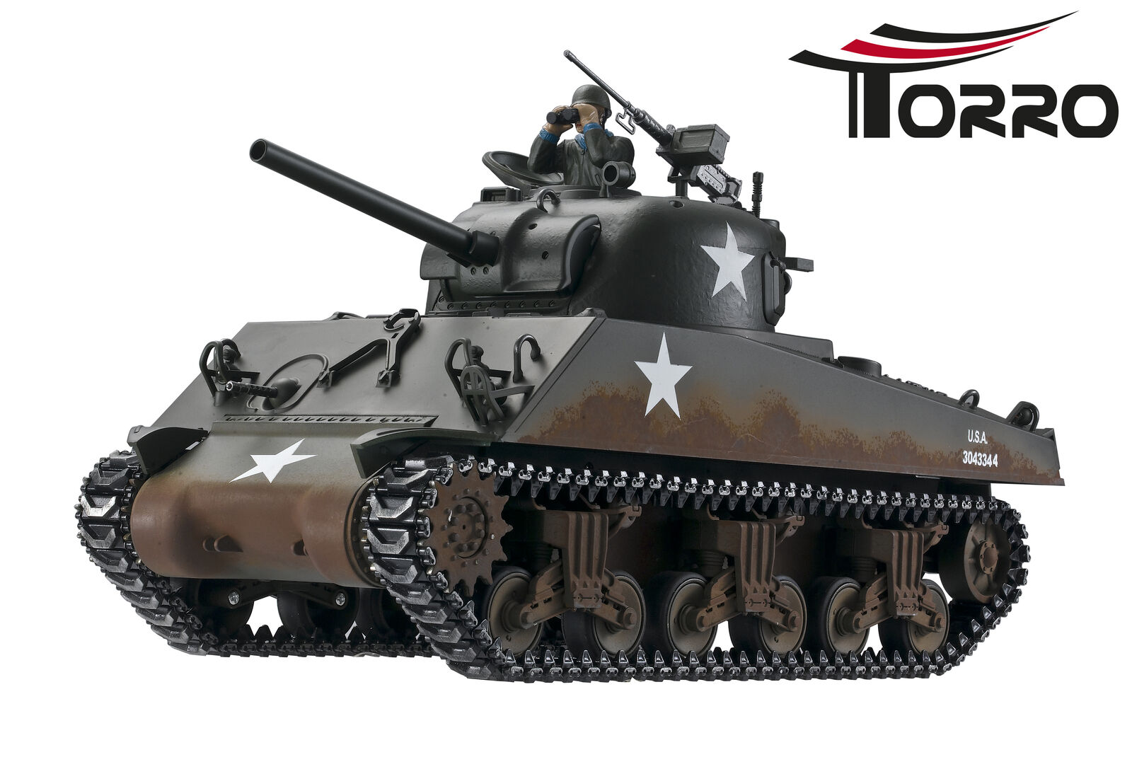 RC 1 16 carri armati Sherman m4a3 Profi-Edition BB versione Torro