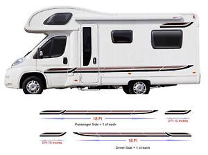 44ft-Graphics-Decals-For-Motorhome-Caravan-Campervan-T4-T5-Transit-Lots-Colors