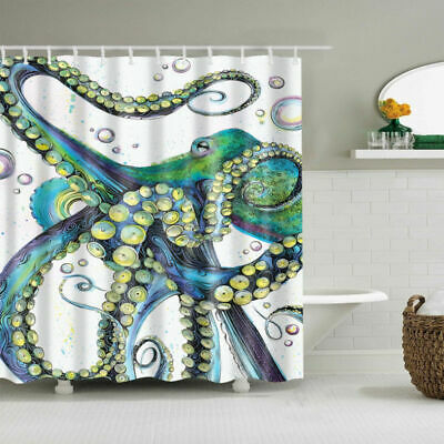 Ocean Mosaic Shower Curtain