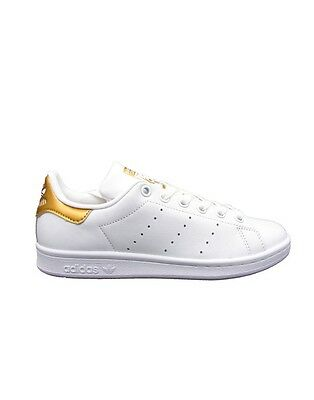 ADIDAS STAN SMITH W SNEAKERS BIANCO ORO BB5155
