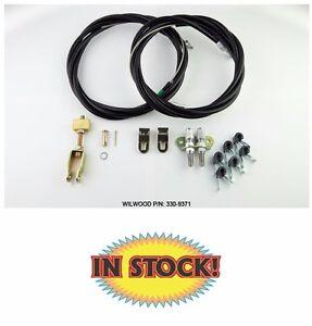 Wilwood 330 9371 Disc Parking Brake Cable Kit Internal