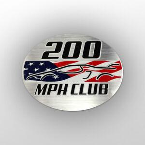 200-mph-Club-Sticker-Corvette-ZR1-Ford-GT40-Dodge-SRT-Viper-Vector-SCCA-Racing