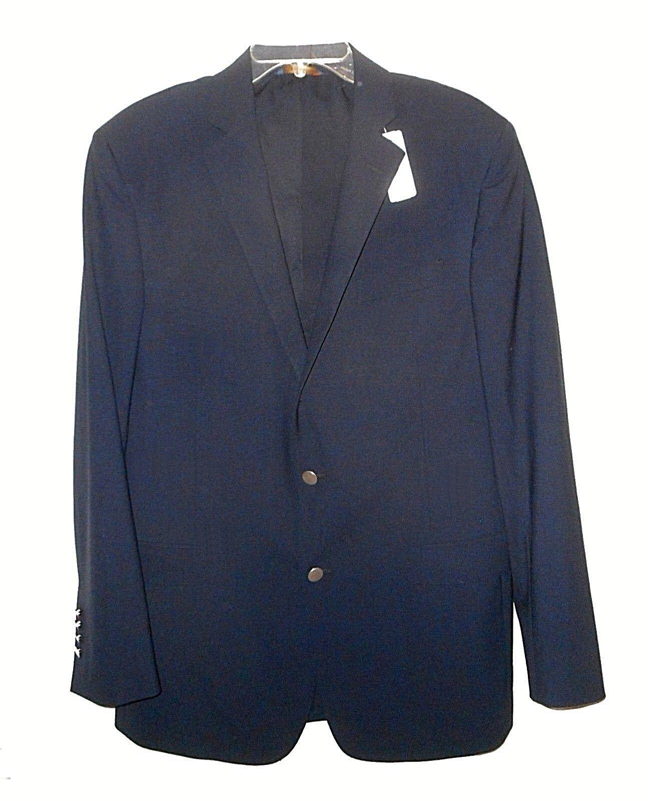 New Blazer, Brooks Bredhers, Navy Business Wool-blend  42-long
