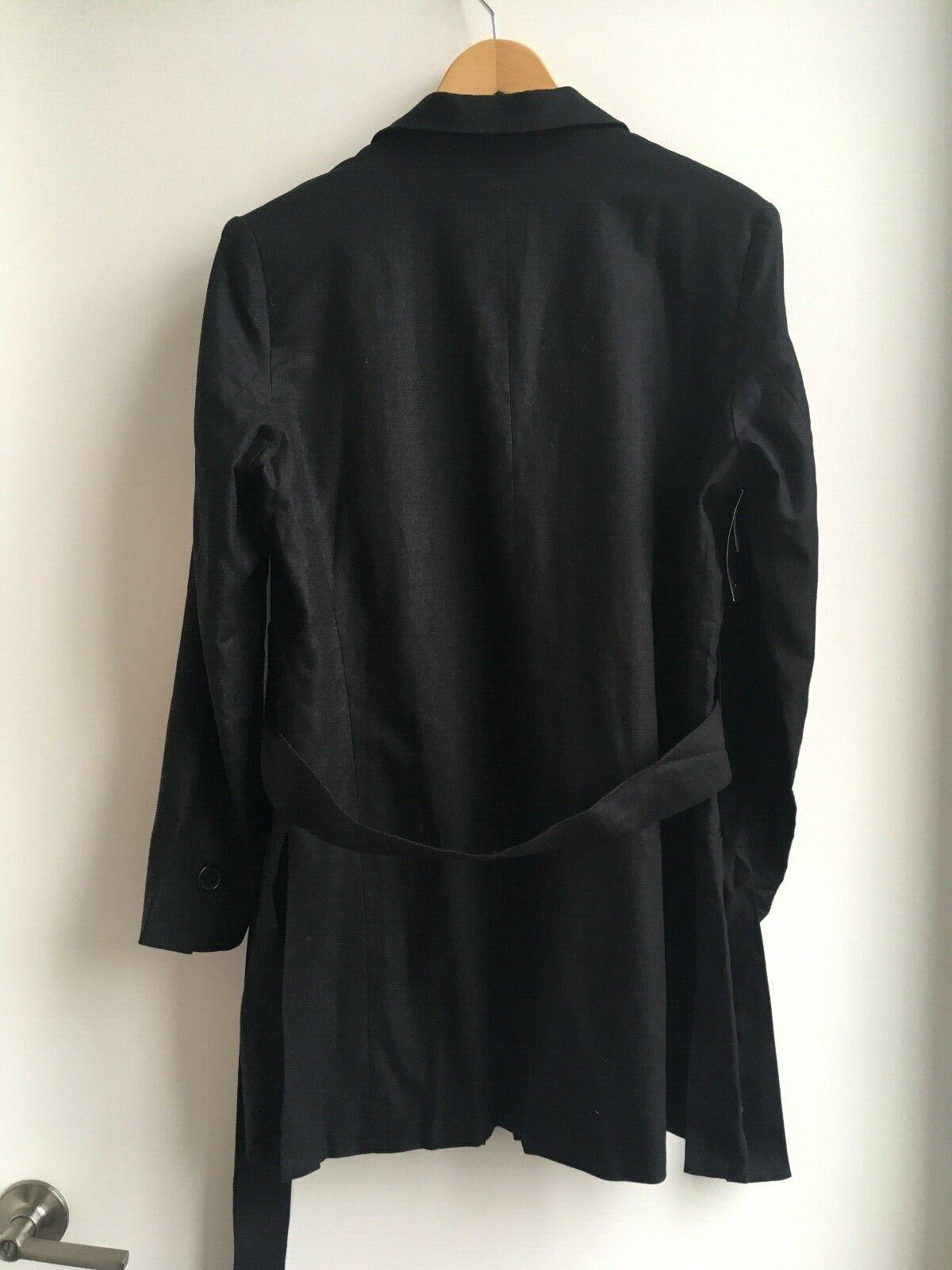 Title A Noren Linen Cotton Blend Blazer Blazer Blazer Size 8 d66076