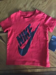 NEW-BOY-039-S-NIKE-RED-T-SHIRT-SIZE-2T
