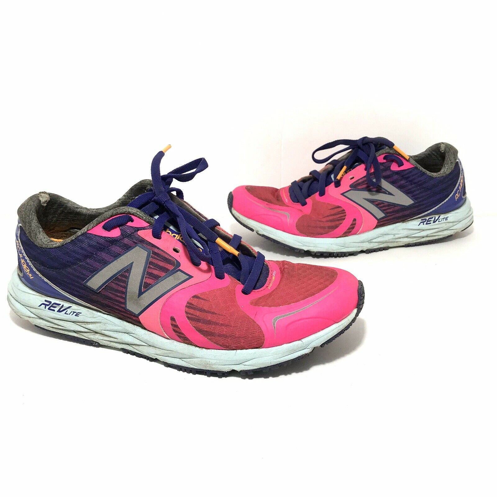 New Balance Femme RC1400 v4 Courir Chaussures De Marche Taille 9.5 rose fluo