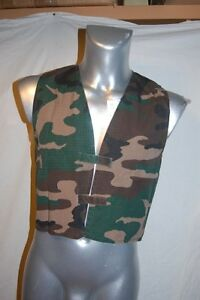 VESTE-GILET-CAMOUFLAGE-CHASSE-RODEO-NEUF-11-12-ANS