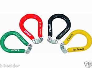 SUPER-B-Wheel-Spoke-Wrench-Nipple-Key-Tool-3-23mm-3-3mm-3-45mm-MAVIC