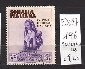 FRANCOBOLLI-ITALIA-COLONIE-SOMALIA-USATI-N-196-F3987