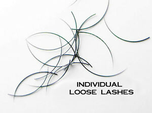 4039eb6c0ec SILK MINK Individual Loose Lashes C Curl .15 10mm -13mm Eyelash ...