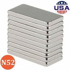 550pcs N52 Neodymium Block Magnet 20x10x2mm Super Strong Rare Earth Magnets