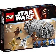LEGO Star Wars - 75136 Droid ™ Escape Pod con r2-d2 & c-3po - NUOVO & OVP