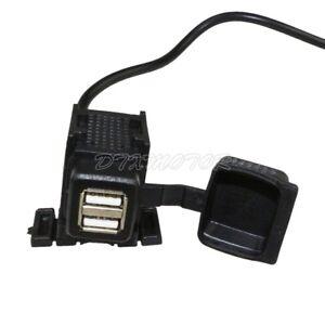 USB Charger Power 2 Port MP3 Cell Mobile Phone for Yamaha Kawasaki Honda Suzuki