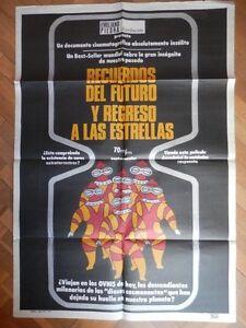CARTEL-POSTER-CINE-ANTIGUO-RECUERDOS-DEL-FUTURO-Y-REGRESO-A-LAS-ESTRELLAS
