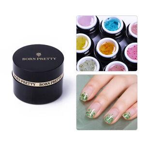 BORN-PRETTY-5ml-Flower-Fairy-Gel-Polish-Pink-Green-Soak-Off-Nail-Art-Gel-Varnish