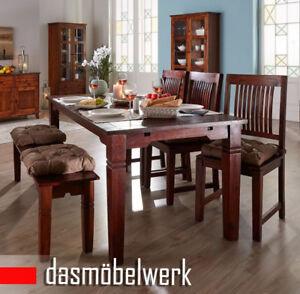 Details Zu Esszimmertisch Cuba Kuchentisch Tisch Esstisch Massiv Holz Kolonialstil Braun