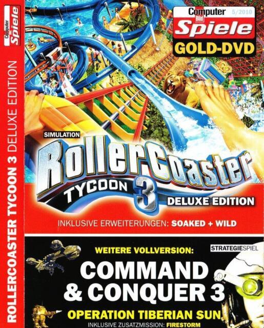 ROLLERCOASTER TYCOON 3 DELUXE / C&C 3: OPERATION TIBERIAN SUN & FIRESTORM -
