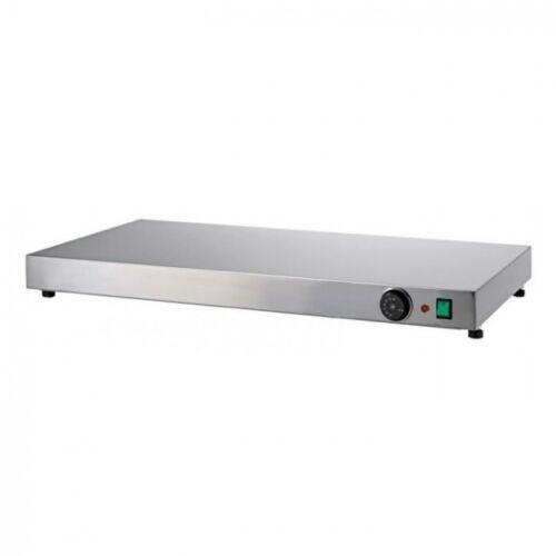 cm90x45x6h. piano caldo inox termostato 30°//+90°c