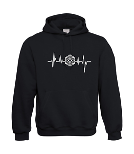 Frequency-Snow-Storm-Winter-I-Patter-I-Fun-I-Funny-to-5XL-I-Men-039-s-Hoodie