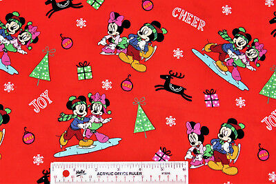 # A1 Holiday Express Christmas Village Snow Winter Cotton Fabric  BTY