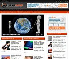 Reverse Phone Blog Established Profitable Turnkey Wordpress Website For Sale