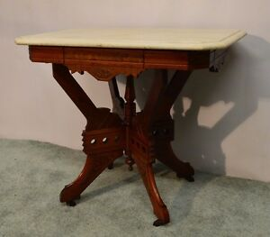 Lovely Image Is Loading Antique 1800 039 S Carved Victorian Eastlake Walnut
