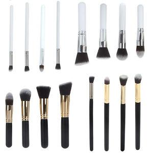 Pro-Cosmetic-Foundation-Blending-Brush-Blush-Kabuki-Makeup-Brushes-Tool-Set-Kit