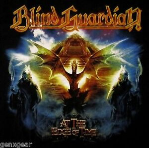 BLIND-GUARDIAN-cd-cvr-AT-THE-EDGE-OF-TIME-Official-SHIRT-XL-New-nbp